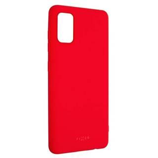 Kryt na mobil Fixed Story na Samsung Galaxy A41 červený