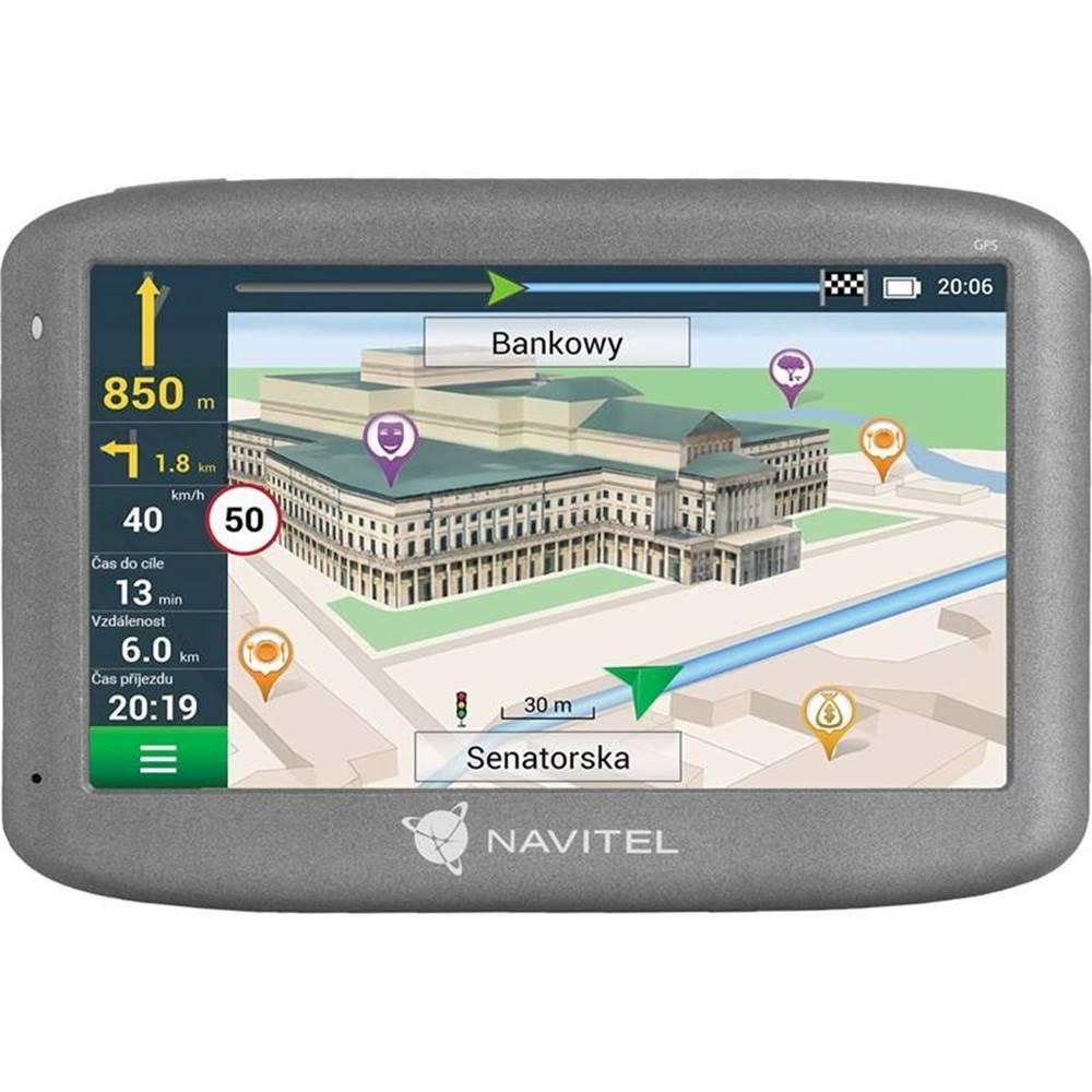 Navitel Navigačný systém GPS Navitel E505 Magnetic čierna