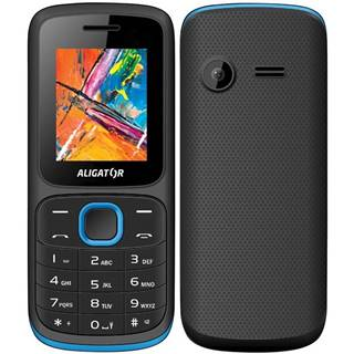 Mobilný telefón Aligator D210 Dual SIM čierny/modrý