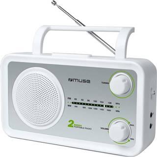 Rádioprijímač MM-06SW strieborný/biely