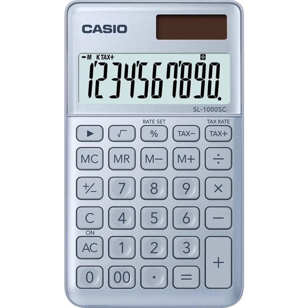 Casio Kalkulačka Casio SL 1000 SC BU - světle modr