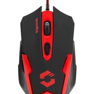 Myš  Speed Link Xito Gaming čierna/červená