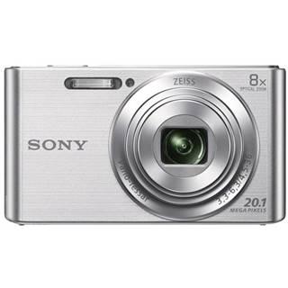 Digitálny fotoaparát Sony Cyber-shot DSC-W830S strieborn