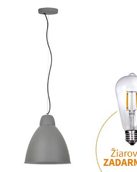 Sivá lampa Tempo Kondela