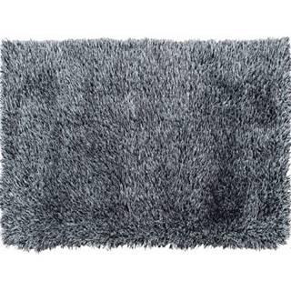 Koberec krémovo-čierna 140x200 VILAN