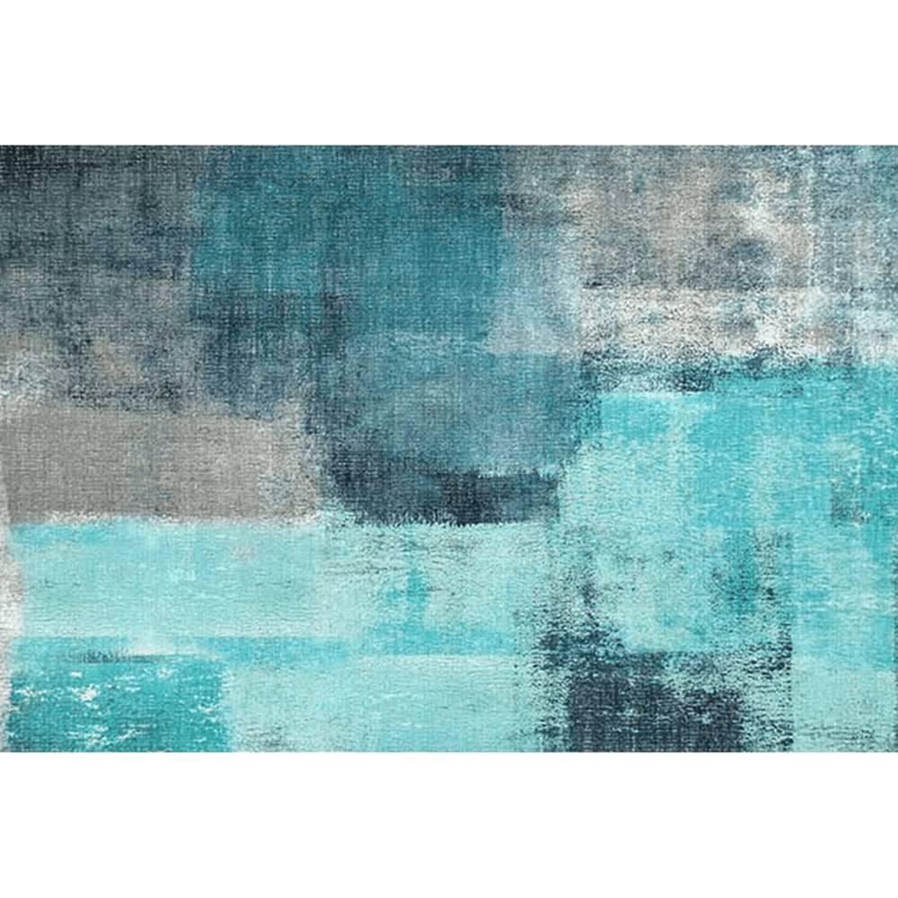 Tempo Kondela Koberec modrá/sivá 120x180 ESMARINA TYP 2
