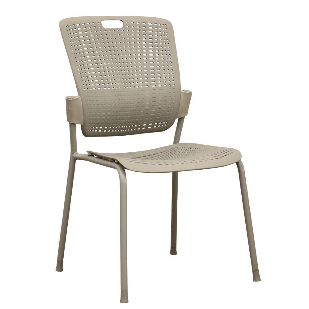 Tempo Kondela Stohovateľná stolička sivá NERGIS