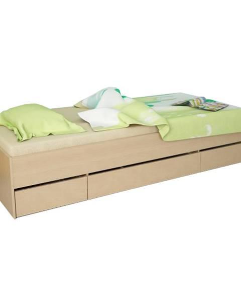 Buková posteľ Tempo Kondela