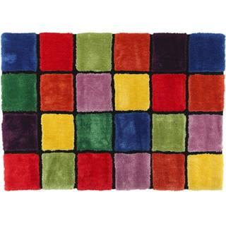 Koberec červená/zelená/žltá/fialová 120x180 LUDVIG TYP 4