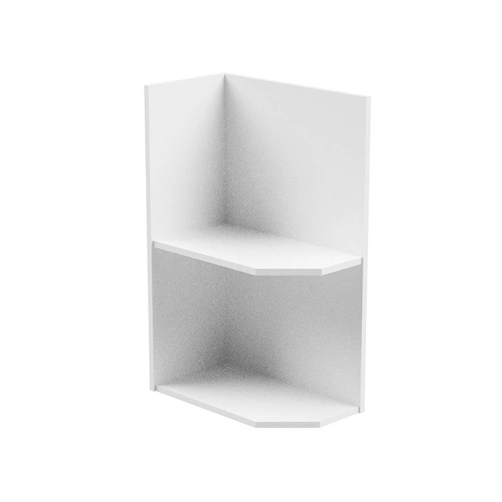 Tempo Kondela Spodná skrinka biela ľavá AURORA D25PZ