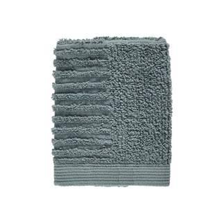 Petrolejovozelený uterák zo 100% bavlny na tvár Zone Classic Petrol Green, 30×30 cm