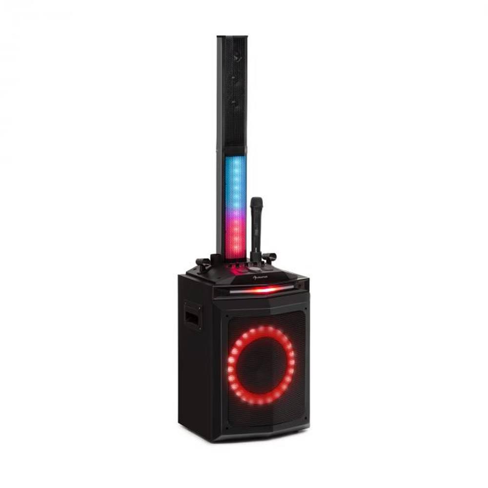 "Auna Auna Clubmaster Tube, párty zvukový systém, 150 W max., 10"" woofer, USB, BT, AUX, čierny"