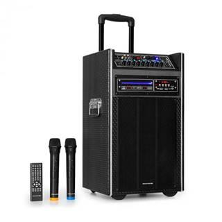"Auna Pro DisGo Box, DVD prenosný PA systém, 300 W max., 2 x 10"" woofer, DVD, BT"