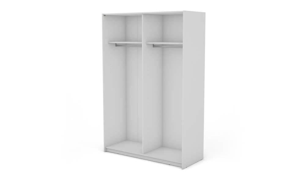 Sconto Korpus skrine BOSTON 150 biela, šírka 150 cm