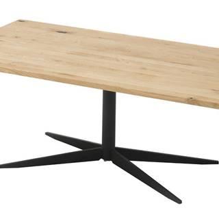Konferenčný stolík NOLAN dub/čierna
