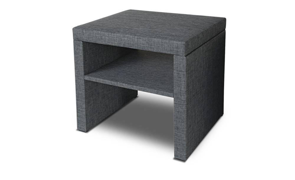 Sconto Nočný stolík SLEEP sivá
