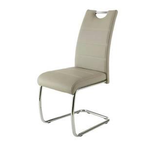 Jedálenská stolička FLORA S krémová