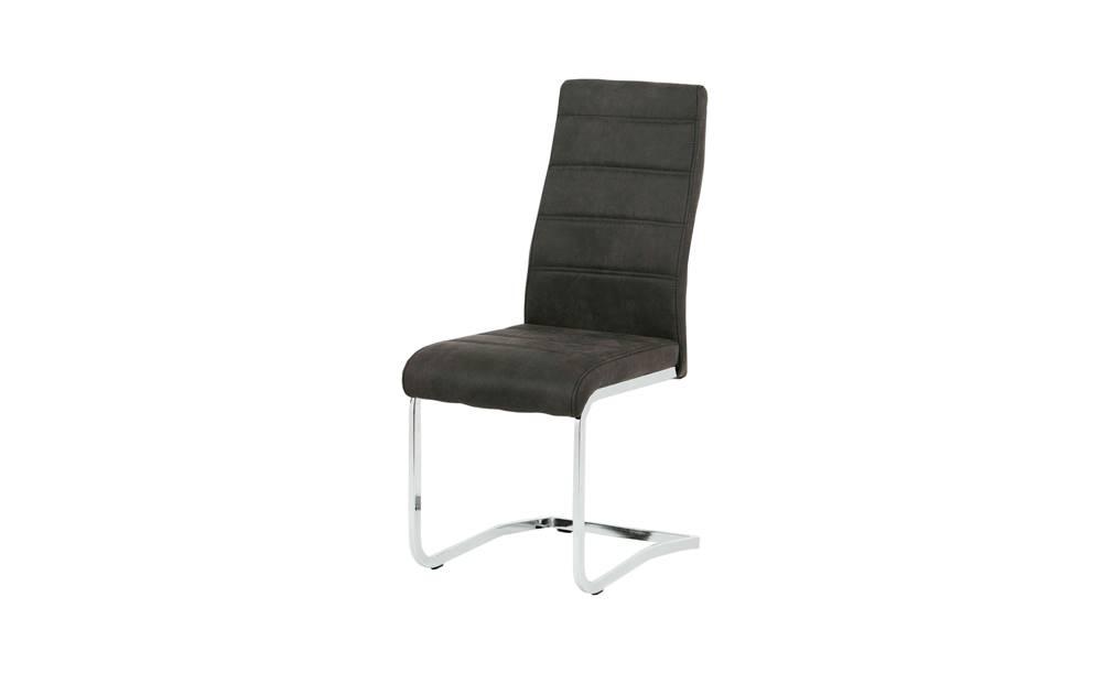Sconto Jedálenská stolička CAROL sivá