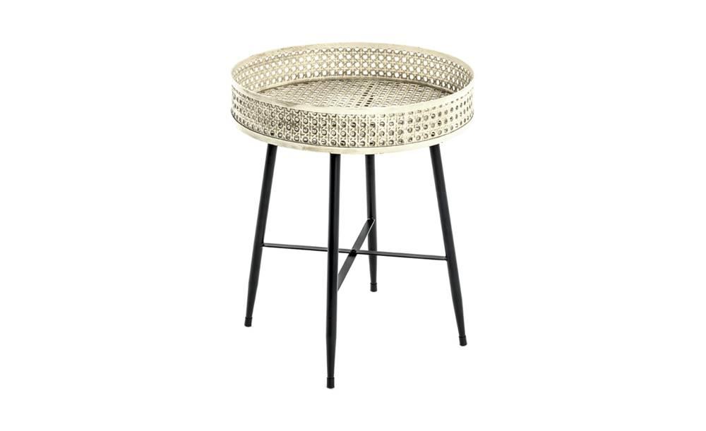 Sconto Prístavný stolík TABAGO ø 45 cm