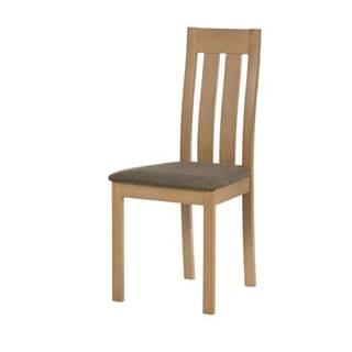 Jedálenská stolička BELA prírodná