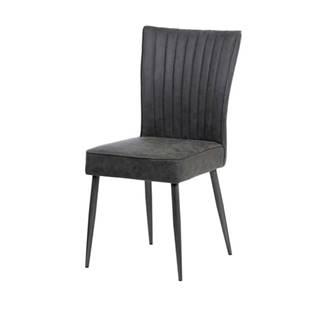 Jedálenská stolička PAULA sivá