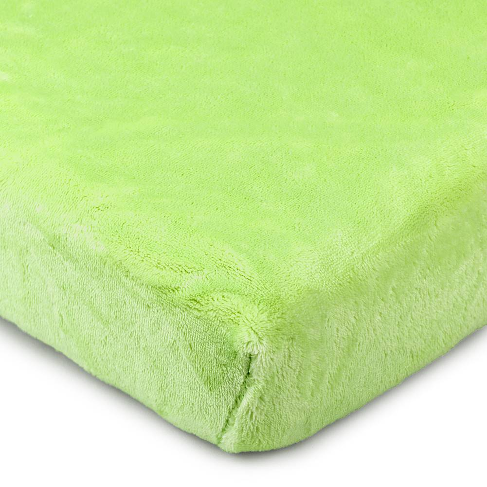 4Home 4Home prestieradlo mikroflanel zelená, 90 x 200 cm